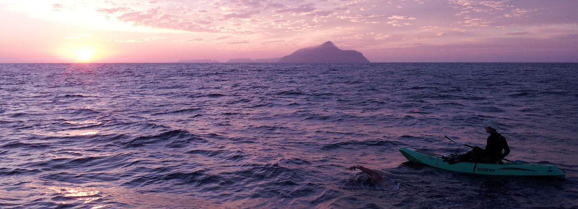 anacapa channel swim